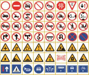 China Road Safety Symbol Board Temporary Construction Reflective Traffic Sign C3500 Ts China Traffic Sign Road Safety
