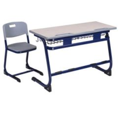 Chair Connected To Desk Thonet Chairs For Sale China Good Quality Double School Classroom Student With