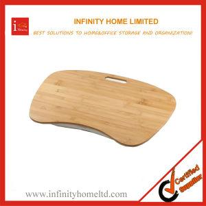 bamboo contour lap desk with pillow