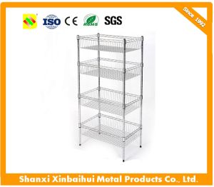 kitchen wire rack bar height table and chairs china supermarket racks powder coated