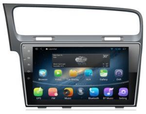 7 way navigation parts of the eye diagram china 10 1 android os car gps for vw golf with 2 app