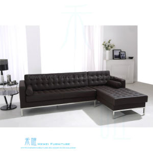 modern sofa l shape twin pull out china office with pu leather hw 006s furniture