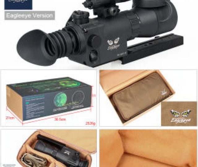 27 0009 Tactical Airsoft Hunting Aries Infrared 2 5x Night Vision Rifle Scope Monocular Ir Goggles