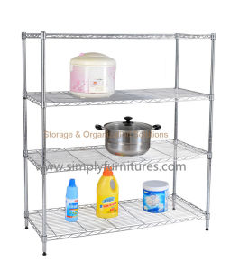 kitchen wire rack aid glass bowl china 4 layers shelving units
