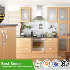 Kitchen Cabinet Price Spoons China Best Sense Customized Pvc Modern With Good