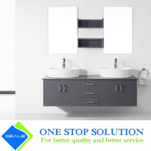 China Gray Color High Gloss Lacquer Finish Bathroom Vanity Zy 3027 China Bathroom Cabinets Bathroom Vanity Furniture
