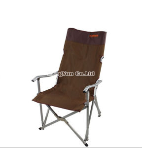 high outdoor folding chairs clean leather chair smell china grade aluminum portable single lunch camping backrest beach