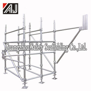 China Heavy Duty Metal Cantilever Scaffold for Repairing
