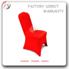Chair Covers Direct From China Rounded Corner Red Color Tight Fitting Restaurant Wedding Hall Cover Basic Info