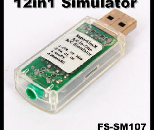 Fs Sm107 12in1 Usb Flight Simulator Cable Phoenix 4 0realflight G5reflex
