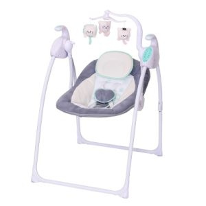 swing chair seat light blue spandex covers china luxury electric musical foldable portable baby basic info