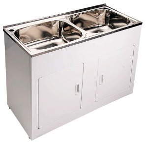 China Commercial Used Stainless Steel Laundry Sink Tub