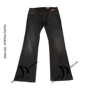 2014 Small Horn Jeans for Women (Pj13110-w)