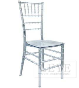 clear chiavari chairs 6 chair dining table set china resin for wedding