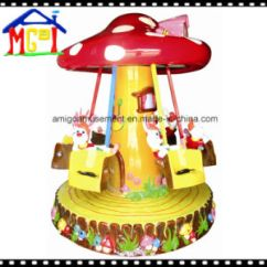 Swing Chair Game Retro Dining Chairs Nz China 2018 Mushroom Kiddie Ride Fly Indoor Playland Basic Info