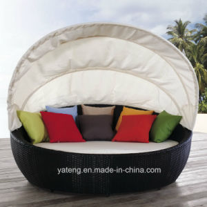 canopy daybed outdoor wicker sun sofa lounge narrowboat beds uk china patio sunlounge with rattan furniture basic info