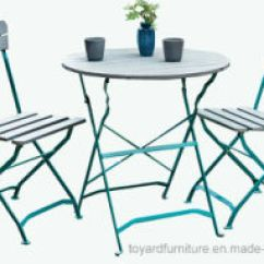 Foldable Table And Chairs Garden Jehs Laub Lounge Chair Replica China Classic Popular Cheap Outdoor Patio Restaurant Furniture Metal Folding