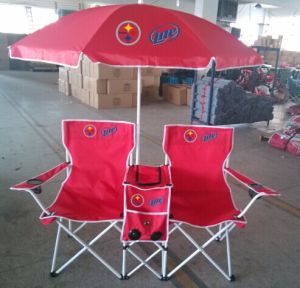 double seat folding chair fishing stalking china beach cooler with umbrella and speaker basic info