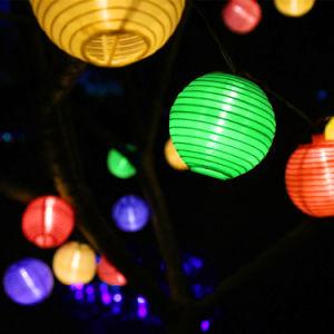 decorative colorful solar lantern