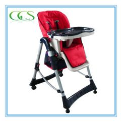 Height Adjustable High Chair Baby Banquet Covers Ebay China 6 Red Chairs For Kids Feeding Basic Info