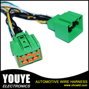 China Custom Make Connectors Wiring Harness With High Temperature