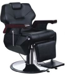 Cheap Barber Chair Barcelona Leather Cushions China Popular Black Salon Chairs With Recline Durable Hair Equipment Beauty High Quality