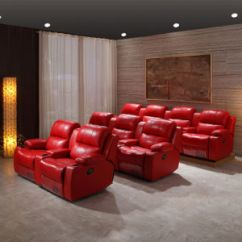 Home Theater Reclining Sectional Sofa Sofas Portland Maine China Cinema For Recliner