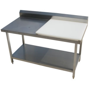 kitchen work tables home depot cabinets reviews china stainless steel table worktop with chopping board choppin