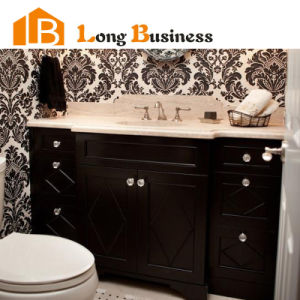 China Wholesale Freestanding Black Lacquer Wooden Bathroom Vanities Lb Al2034 China Bathroom Cabinets Black Online Bathroom Cabinets