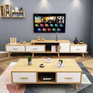 China Hot Sale Nordic Style Living Room Furniture Burlywood Modern Wood Minimalist Coffee Table China Coffee Table Modern Minimalist Table Coffee Modern