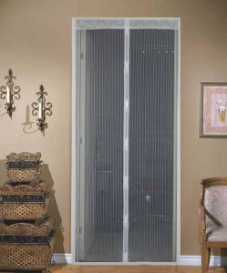 china magnetic curtains door screen