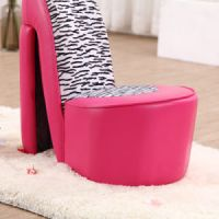 China Special Design Living Room Furniture High Heel Shoe