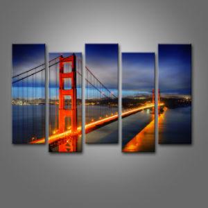 Golden Gate Bridge Usa Canvas Painting Wall Art Home Decoration