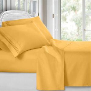 ensembles de literie prix d usine draps de lit en coton blanc hdm041