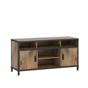 support de porte rustique belleworks 2 cabinet meubles tv avec des etageres