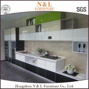 nouvelles commerciales laque coloree moderne de meubles des armoires de cuisine
