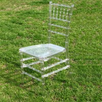 China Crystal Clear Resin Tiffany Chair for Wedding ...