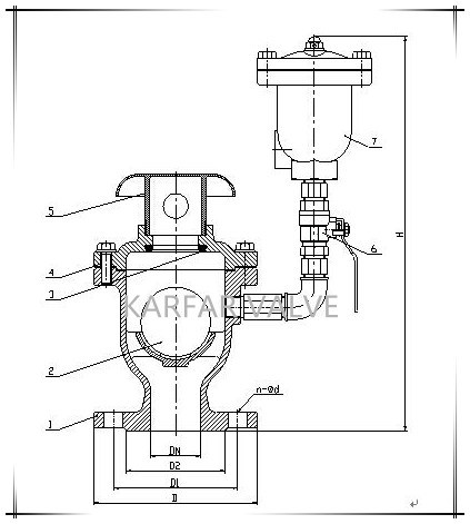 (FGP4X) Combination Type Double Orifice Vacuum Breaker Air