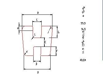 China PU acoplamentos de tipo H