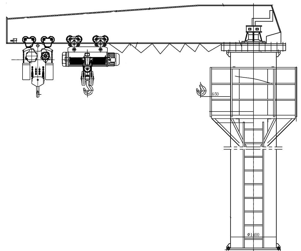 hight resolution of part 3 sketch crane technical data