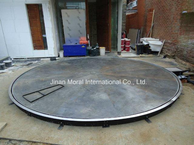 Carro de exposies da plataforma giratria da mesa giratria de Automveis Carro de exposies da plataforma giratria da mesa