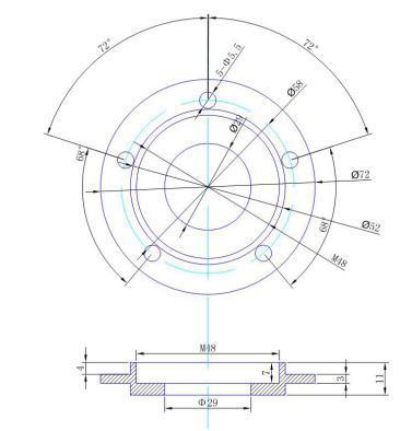 Ultrasonic Temperature Sensor Resistive Temperature Sensor