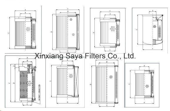 Lubrifiant de l'huile hydraulique pour l'élément de filtre