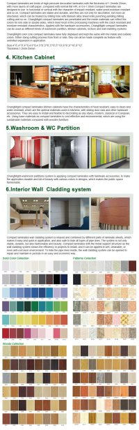 China (Formica wall panels) High Pressure Laminate
