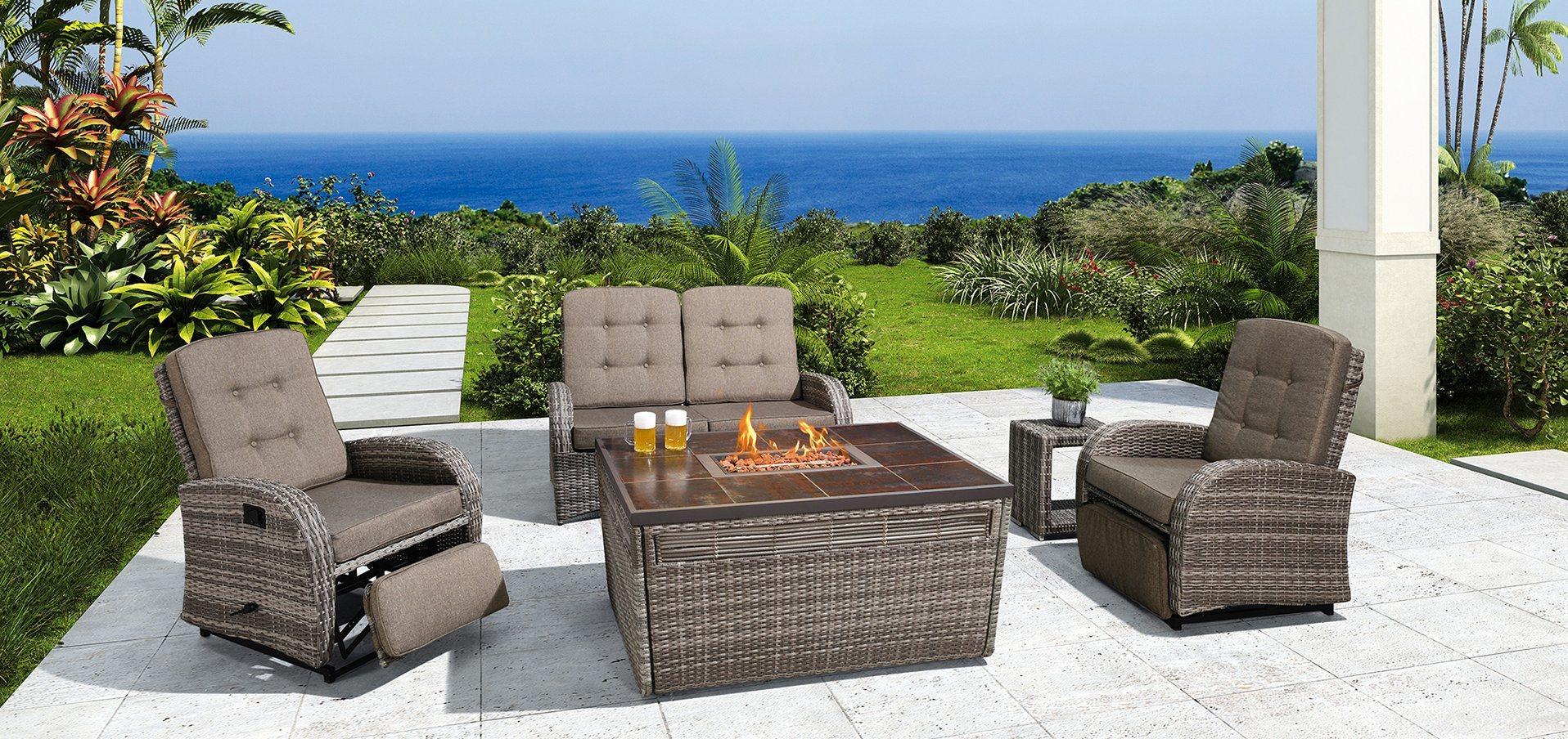 patio furniture garden sets outdoor