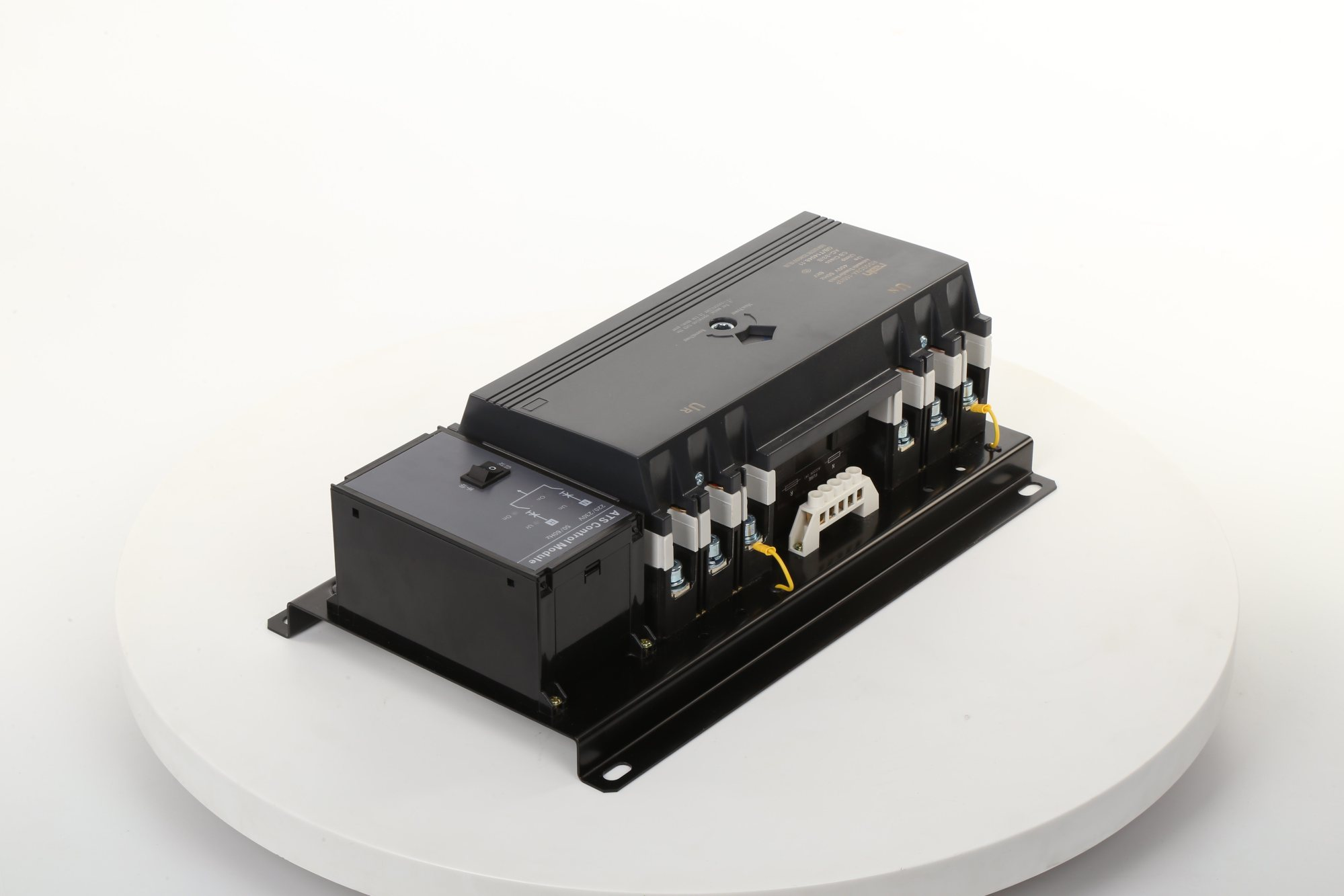 hight resolution of product structure rdq3nma series intelligent ats comprised with two 3p or 4p mccb and its accessories aux contact alarm contact mechanical interlocking