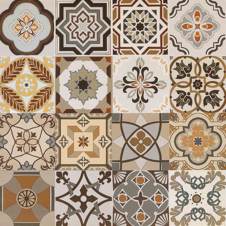 600 600mm glazed decoration tile rustic