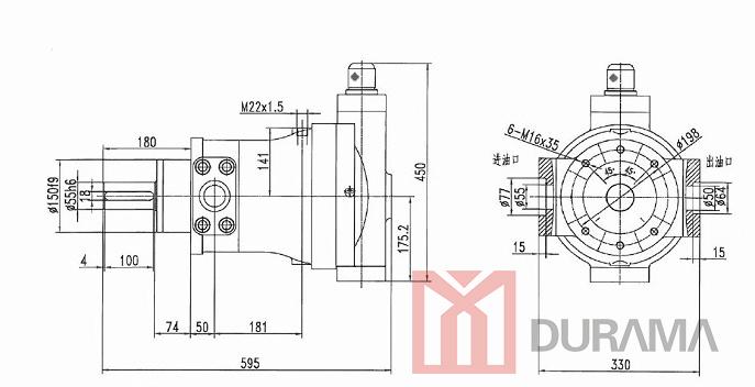 China 25mcy Hydraulic Piston for Press Brake / Hydraulic