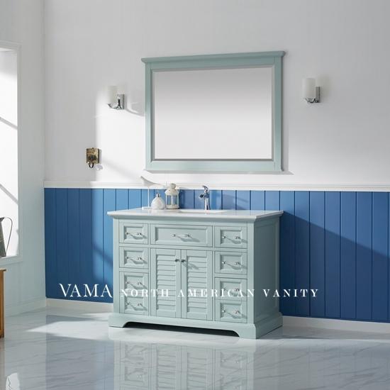 Vama 48 Inch Hotel Luxury Timber Bathroom Cabinet Bathroom Vanity Units 783048 China Vanities Hotel Bathroom Vanity Made In China Com