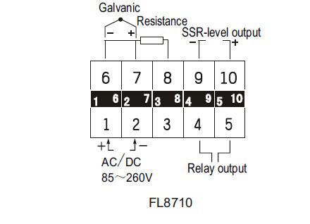 China Intelligent PID Temperature Controller (XMT7100